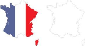 Frankreich Stockfotografie
