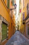 frankreich Alte Stadtarchitektur von Nizza auf französischem Riviera Stockbild