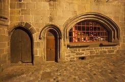 Frankreich, Auvergne, Besse Stockbild