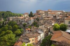 Frankreich, Auvergne, Thiers Lizenzfreies Stockbild