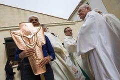Frankreich - Camargue - Les Saintes Marie de la Mere lizenzfreies stockbild