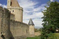 Frankreich. Carcassonne. Stockfotografie