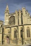 Frankreich. Carcassonne. Stockbilder