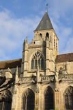 Frankreich, die historische Kirche von Triel-sur die Seine Stockbilder