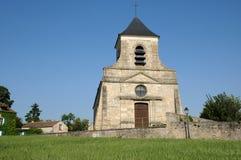 Frankreich, die klassische Kirche von Sagy in Val d Oise Stockbilder