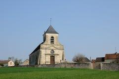 Frankreich, die klassische Kirche von Sagy in Val d Oise Stockfotografie