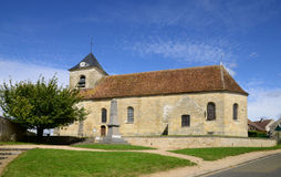 Frankreich, die klassische Kirche von Sagy in Val d Oise Lizenzfreie Stockfotografie