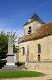 Frankreich, die klassische Kirche von Sagy in Val d Oise Stockbild