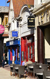 Frankreich, die malerische Stadt von Le Touquet Stockbilder