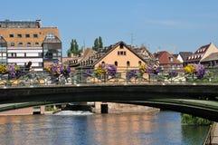 Frankreich, die malerische Stadt von Pontoise Lizenzfreie Stockbilder