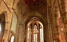Frankreich, die malerische Stadt von Wissembourg in Bas Rhin Lizenzfreies Stockbild
