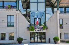 Frankreich, die Stadt von Voisins le Bretonneux Stockfotos