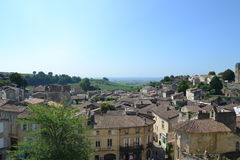 Frankreich-Dorf Lizenzfreies Stockfoto