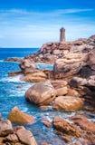 Frankreich, Granit-Küste stockbilder