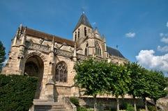 Frankreich, historische Kirche von Triel-sur die Seine Stockfoto