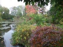 Frankreich, Loire Valley, Giverny, Claude Monet-` s Garten, ein Teich, Lizenzfreie Stockbilder