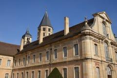 Frankreich, malerische Stadt von Cluny in Saone und in der Loire Lizenzfreies Stockbild
