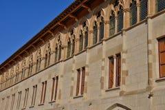 Frankreich, malerische Stadt von Cluny in Saone und in der Loire Lizenzfreie Stockfotos