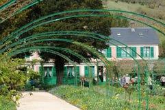 Frankreich, malerisches Dorf von Giverny in Normandie Lizenzfreies Stockbild