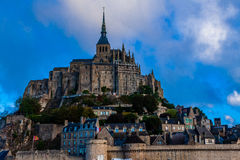 Frankreich. Normandie. Mont Saint-Michel. Stockfotografie