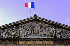 Frankreich, Paris: Nationalversammlung Stockbild