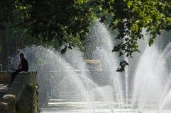Frankreich - Provence - Nimes lizenzfreies stockbild