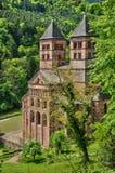 Frankreich, römische Abtei von Murbach in Elsass Lizenzfreie Stockfotos