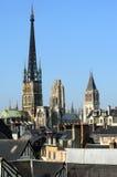 Frankreich Rouen: die gotische Kathedrale von Rouen Stockfoto