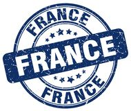 Frankreich-Stempel vektor abbildung