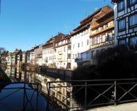 Frankreich Straßburg Stockbild