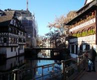 Frankreich Straßburg Stockfotografie