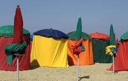 Frankreich, Strand von Deauville lizenzfreie stockfotografie
