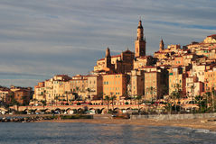 Frankreich-Taubenschlag D'Azur Menton Lizenzfreie Stockfotografie