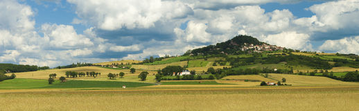 Frankrijk - Auvergne Royalty-vrije Stock Afbeelding