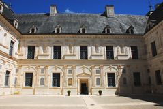 Frankrijk-Chateau van Ancy le Franc royalty-vrije stock afbeelding