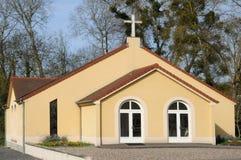 Frankrijk, de presbyterian kerk van Meulan in les Yvelines Stock Fotografie