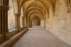 Frankrijk, de schilderachtige abdij van Royaumont in Val D Oise stock foto