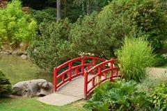 Frankrijk, de schilderachtige Japanse tuin van Aincourt Royalty-vrije Stock Fotografie