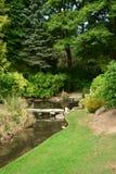 Frankrijk, de schilderachtige Japanse tuin van Aincourt Royalty-vrije Stock Foto's