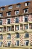 Frankrijk, de schilderachtige stad van Deauville royalty-vrije stock foto's