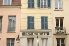 Frankrijk, de schilderachtige stad van Heilige Germain Engelse Laye Stock Foto's