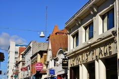 Frankrijk, de schilderachtige stad van Le Touquet Stock Afbeelding