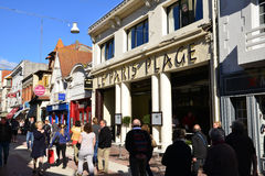Frankrijk, de schilderachtige stad van Le Touquet Royalty-vrije Stock Afbeelding
