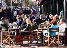 Frankrijk, de schilderachtige stad van Le Touquet Royalty-vrije Stock Foto