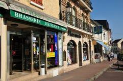 Frankrijk, de schilderachtige stad van Maule Royalty-vrije Stock Fotografie
