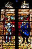 Frankrijk, de schilderachtige stad van Monfort l Amaury Royalty-vrije Stock Foto's