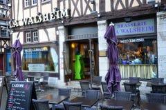 Frankrijk, de schilderachtige stad van Rouen in Normandie Stock Afbeelding