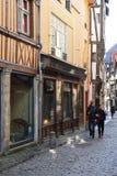 Frankrijk, de schilderachtige stad van Rouen in Normandie Royalty-vrije Stock Foto