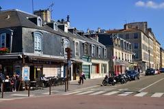 Frankrijk, de schilderachtige stad van Versailles Stock Foto