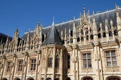 Frankrijk, de stad van Rouen in Normandie Stock Foto's
